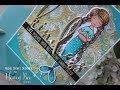 Honey Bee Stamps | Metallic Kindness Mermaid Card