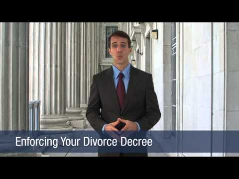 Enforcing Your Divorce Decree