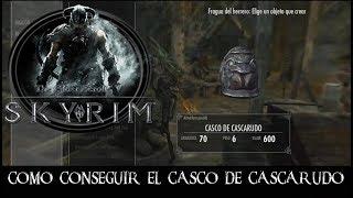 SKYRIM SPECIAL EDITION -CÓMO CONSEGUIR EL CASCO DEL CASCARUDO-