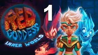 Red Goddess: Inner World PS4 Gameplay Part 1 - Amiel Town + Telekinesis!