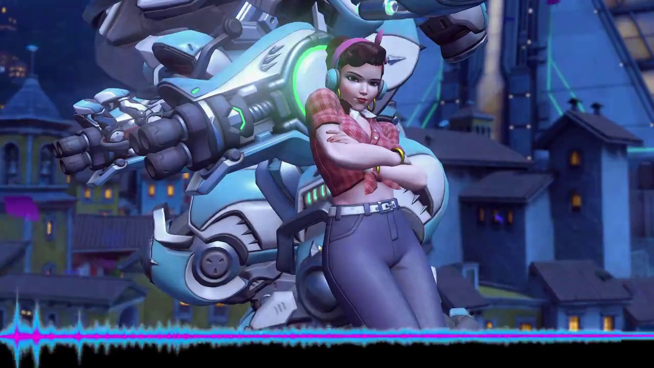 D Va Gets Play The Game