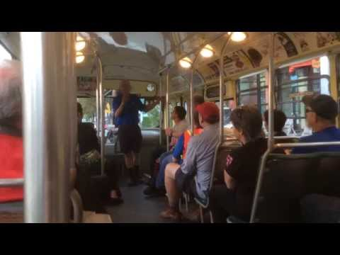 Vancouver Tours on the Brill Trolleybus No. 2416 - Day 1