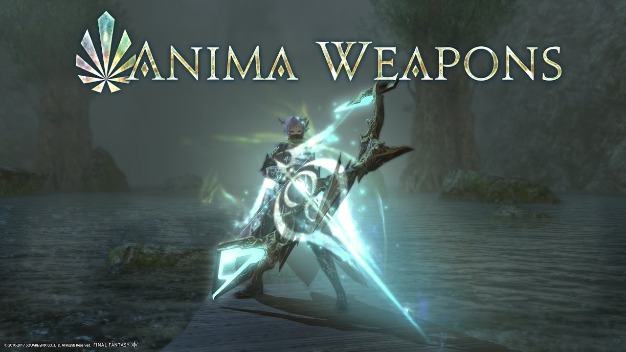 「FINAL FANTASY XIV」Anima Weapons 3 55 – Terpander Lux (BARD)