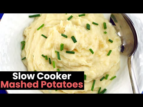 Creamy Slow Cooker Mashed Potatoes