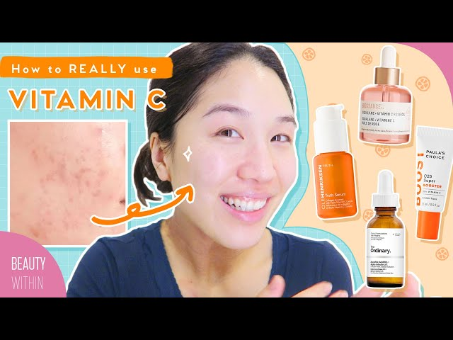 🍊The Truth About Vitamin C in Our Skincare: How to Use, Fave Products & Formulations! (Ft. DECIEM)