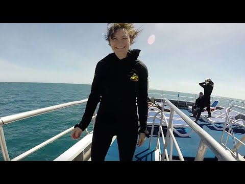 First-Timers Diving at the Great Barrier Reef