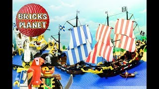 Lego Pirates 1989 Ultimate Stop Motion Review