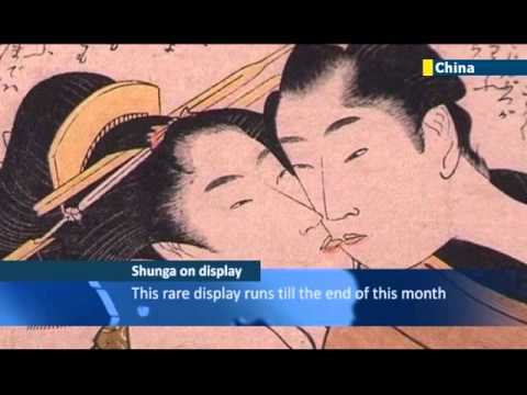 Erotic Shunga Show: Collection of classical Japanese erotic art goes on display in Hong Kong
