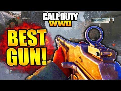 BEST GUN IN WORLD WAR 2! BAR BEST CLASS SETUP COD WW2 BEST WEAPON! WORLD WAR 2 BEST GUN CLASS SETUP!