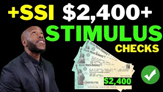 TODAY!! Second Stimulus Check Update $1200 + $2400 + SSI SSDI + Unemployment Benefits