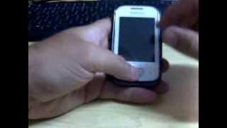Capturar a Tela / Printshoot / PrintScreen - Samsung Galaxy Y ou Pocket duos