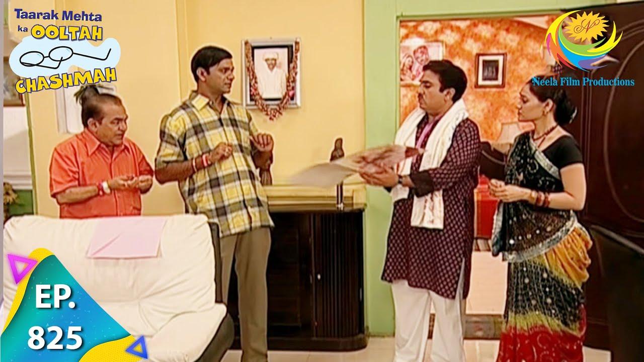 Download Taarak Mehta Ka Ooltah Chashmah - Episode 825 - Full Episode