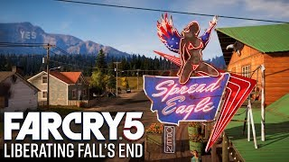 Far Cry 5 Gameplay - Liberating Fall