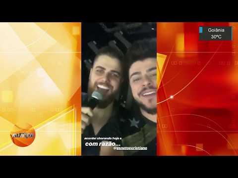 Marilia Mendonça recebe homenagem de Zé Neto e Cristiano em show