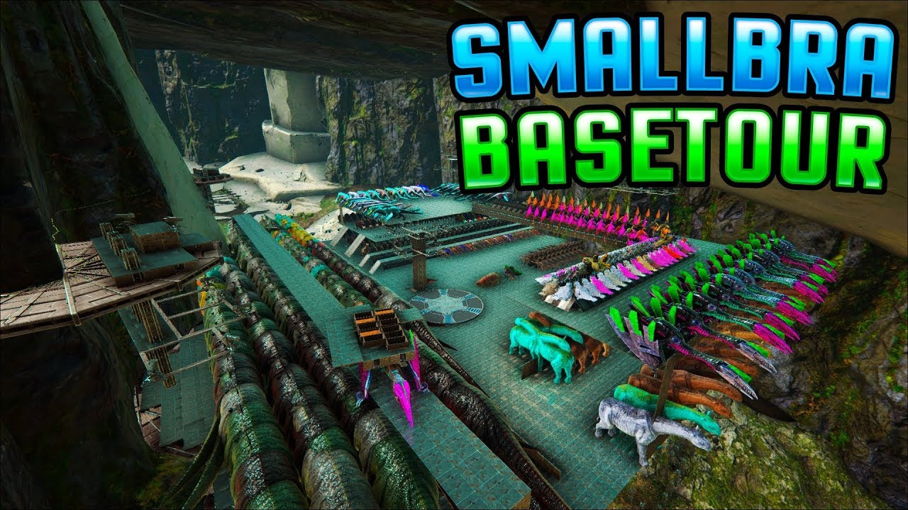 BASE TOUR | SMALLBRA | Small Tribes | Ark Official PvP
