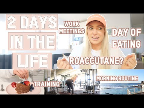 OK.. we need to talk! | Roaccutane, training, food + work day