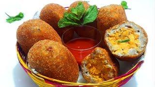 ম্যাজিক ডিমের কাটলেট ভিন্ন স্বাদের রমজান স্পেশাল রেসিপি।Egg Cutlet।Egg Kabab & Mutta Kabab