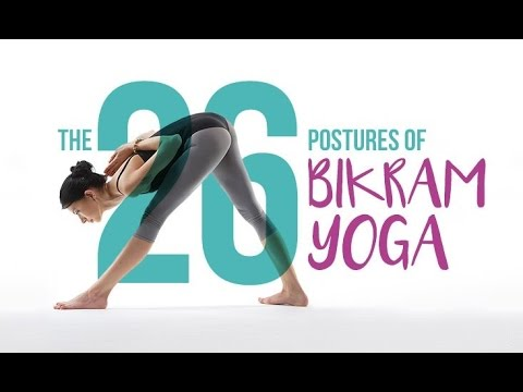 26 Bikram Yoga Poses Youtube