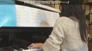 2017年2月5日チーム8左伴彩佳Showroomのピアノで乃木坂46のサヨナラの意...
