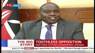 Oppositions\' watchdog role compromised? Part Two | #TheBigStory