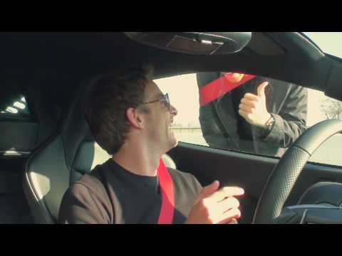 McLaren MP4-12C test featuring Jenson Button and Lewis Hamilton