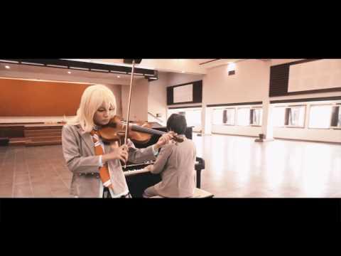 Kirameki / キラメキ - Piano and Violin Ver. - Waaci (Cover by Nuge) | OST. 四月は君の嘘