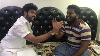 Actor Vimal and Rj Vignesh Cover Song 😜😜😜Kalavaani 2 - Shooting Spot Atrocity😜...