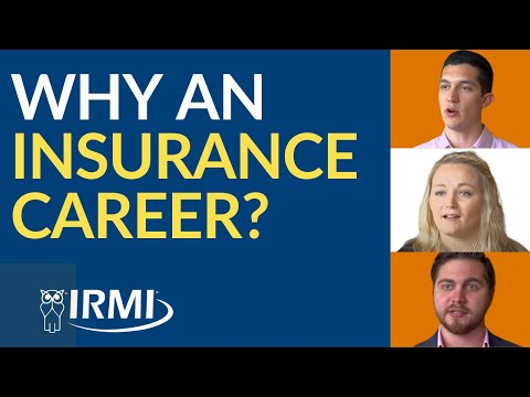 Why an Insurance Career?