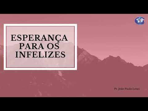 Pregação Pr. João Paulo Lenzi | Boas Novas: a manifestação da esperança viva | 06/01/2019