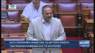 Βουλή - Ενημέρωση (22/07/2015)