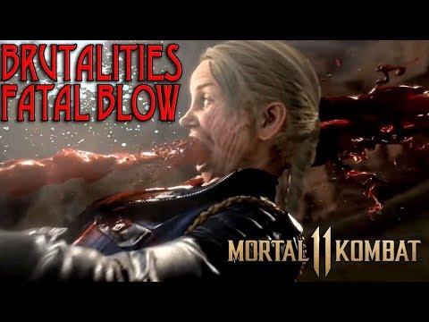 TODAS LAS BRUTALITIES Y FATAL BLOWS DE MORTAL KOMBAT 11 - MaxiLunaPMY
