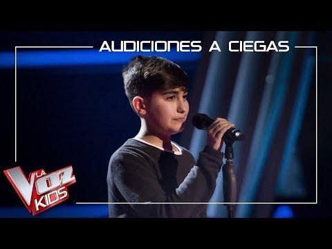 Marcos Díaz Canta 'Stone Cold' | Audiciones A Ciegas | La Voz Kids Antena 3 2019