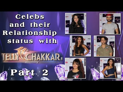 Celebs and their Relationship status with Tellychakkar - part 2