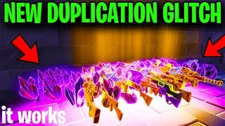 Glitch duplication de travail de travail maintenant ! (Comment duplicate) -Fortnite Save The World