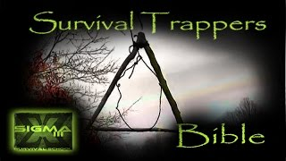 Survival Trappers Bible Part 6- Coat Hanger Bird Snare