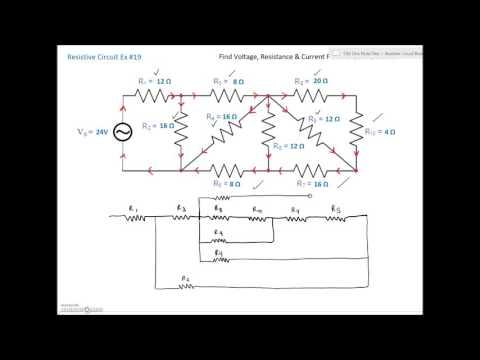 Series Parallel Combination Circuit #19