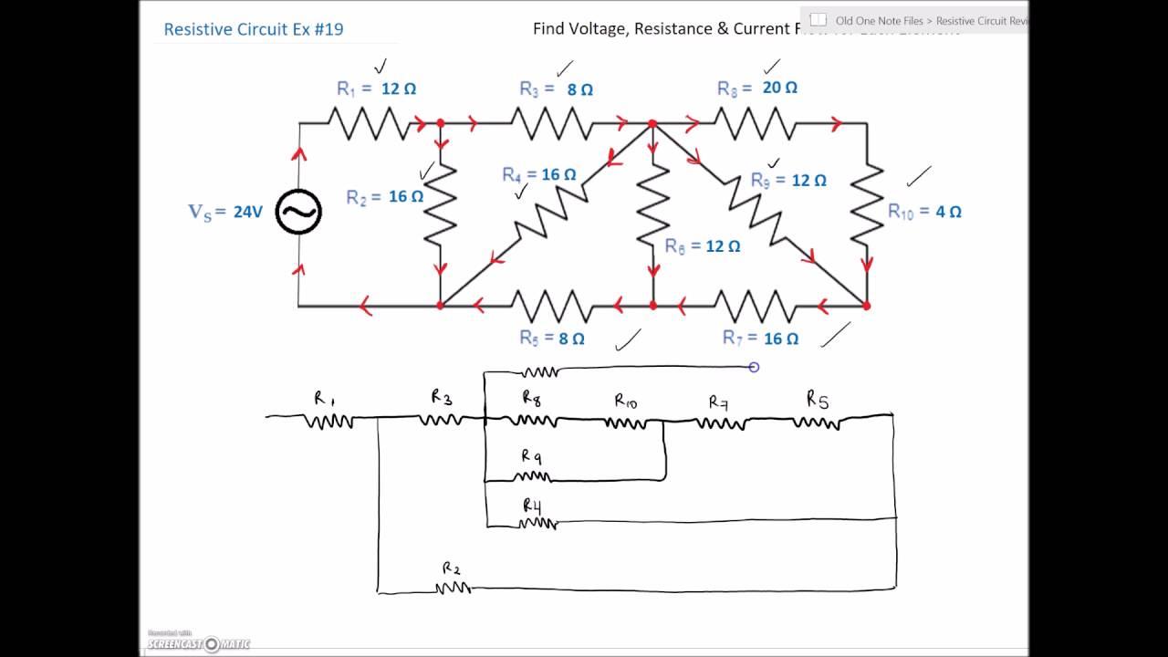 series parallel combination circuit 19 [ 1280 x 720 Pixel ]