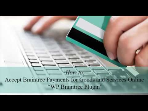 WP Braintree – WordPress plugin | WordPress org