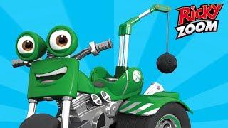 Ricky Zoom  ️ Encontrar de DJ! | Dibujos animados para Niños | Nick Jr