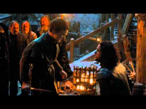 For The Watch - Jon Snow Stabbed By Olly And Alliser Thorne