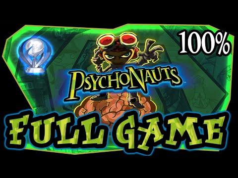 Psychonauts FULL GAME 100% Longplay (PS4, XBOX, PC) thumbnail