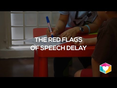 Red flags of speech delay