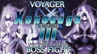 Ⓦ Xenosaga Episode 3 Walkthrough - Voyager (Black Testament) Boss Fight