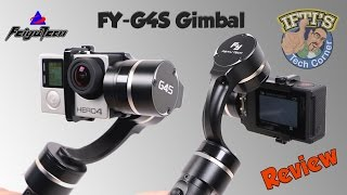 Feiyu Tech FY G4S 3 Axis GoPro Gimbal With 360 Motors Sample