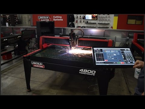 How To Rip Cut Metal Plate Using a CNC Plasma Cutter