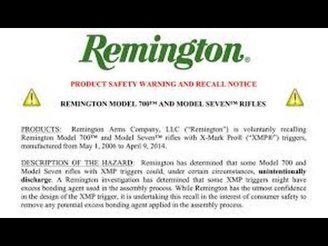 Remington Model 700 Recall and LongRange Rifle Update