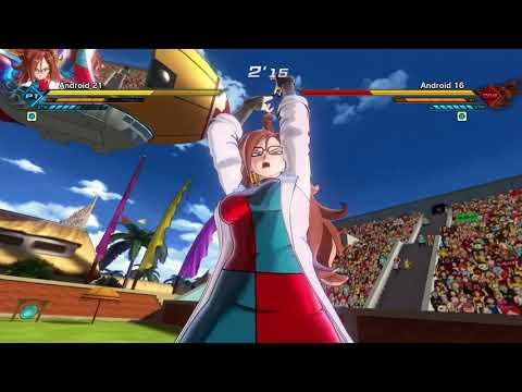 Dragon Ball Xenoverse 2 Ultra Pack 2: Majuub and Android 21 (1080p60)  