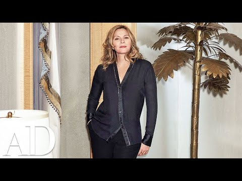 Kim Cattrall Takes You On a Tour of Her New York Home in 90 Seconds  Architectural Digest