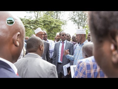 OFFICIAL LAUNCH OF CONSTRUCTION OF BIOSAFETY LAB AT MARSABIT REFERRAL HOSPITAL