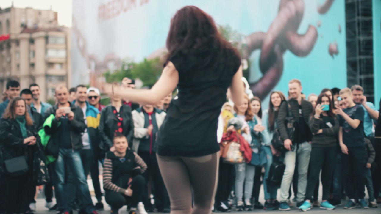 Sexygirls Dancing Street Dance Battle Kiev